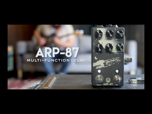 Walrus Audio ARP 87 Multi Function Delay Tech Demo