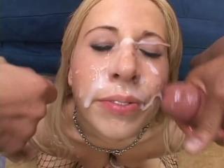Georgia peach cumshot (сцена из tear me a new one 3)