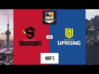 Shanghai Dragons vs Boston Uprising (Map 5: Lijiang Tower) | Inaugural Preseason