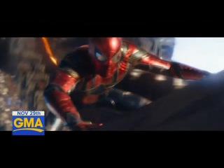Avengers Infinity War Trailer sneak peek | GMA