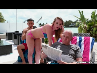 Harley Jade (Don't Tell Grandpa)[2017, Anal, Amateur, Big Ass Booty, Cum In Mouth, Cum Shot, Hardcore, White, HD 1080p]