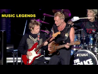 The Police - Live At Tokyo Dome Japan 2008 | FULL CONCERT (HD) MUSIC LEGENDS