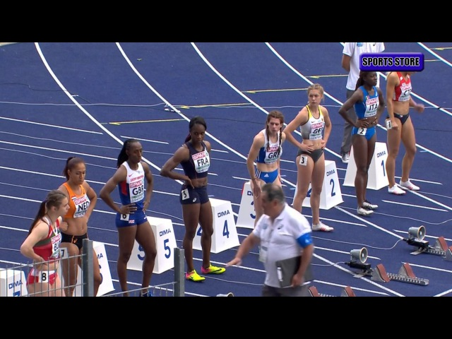 Carole Zahi 11 19 100m Women final Team Championships Lille