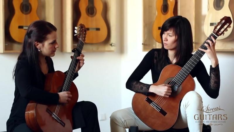 Duo Françaix I Selder and E Lenhartová Danzas Españolas Op 37 No II Oriental by Granados