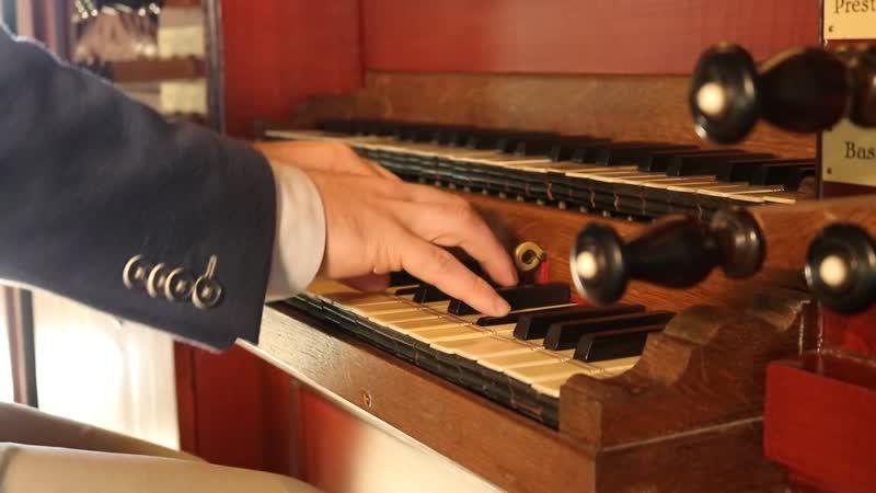140 (1) J. S. Bach - Wachet auf, ruft uns die Stimme, BWV 140 (1) - Reinier Korver, organ