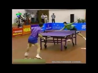 Ma Long vs Ma Lin _ 2006 Doha Asian Games Warm-Up