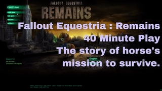 Fallout Equestria: Remains      My Little Pony   Pip   Fluttershy   Applejack   Spike