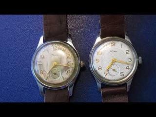 мои наручные мужские часы Кама