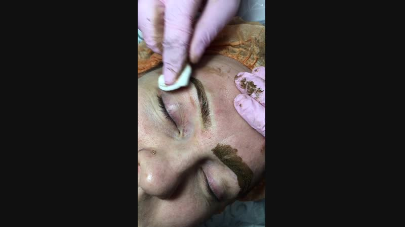 Микроблейдинг бровей ручная техника FlaxTap🔥 Мастер НАТАЛЬЯ 💞