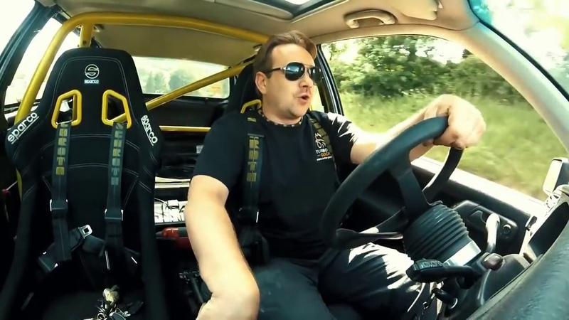 Gockel unterwegs im 700 PS VW Golf 3 VR6 Turbo mit S400 Lader und EMU Black