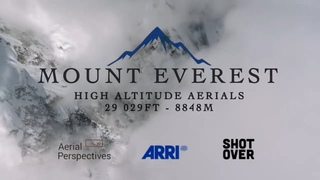 Mt. Everest High Altitude Aerials with the SHOTOVER F1 and SHOTOVER G1