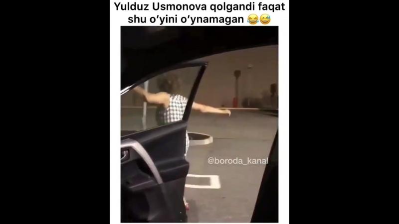 Yulduz Usmonova qolgandi faqat shu o'yini o'ynamagan kulgu uzb UzbekKliplarHD