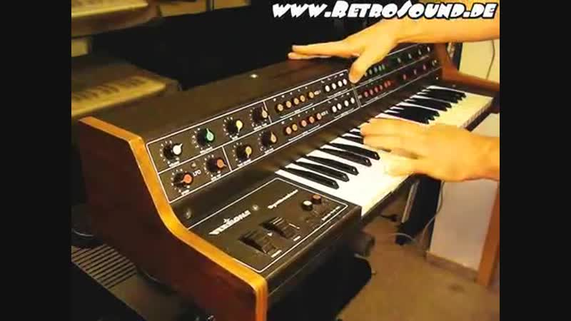 VERMONA Analog Synthesizer 1982