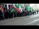 Štátna hymna Slovenskej republiky na demonštrácií proti rozpusteniu ĽSNS v BA 9 4 2019