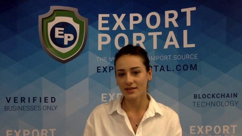 Export portal registration tutorial video russian