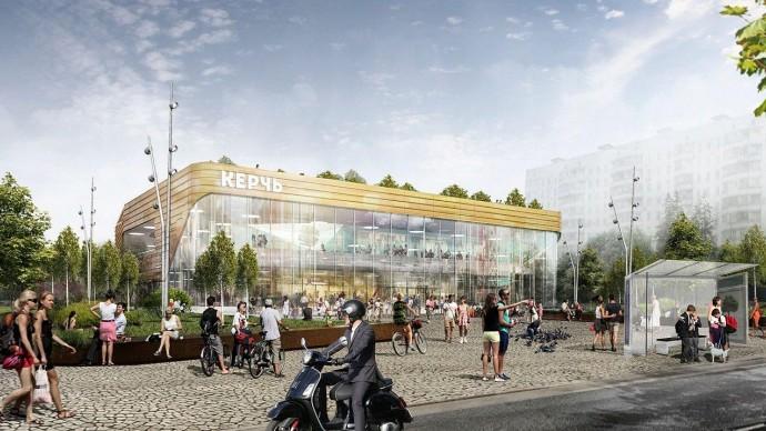 В Москве появится кинотеатр с садом на крыше. Подождите загрузки картинки!