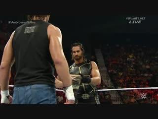 (WWE Mania) Elimination Chamber 2015 Dean Ambrose vs Seth Rollins(c) --  WWE World Heavyweight Championship