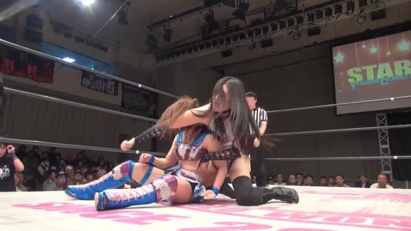 3. Hiromi Mimura Konami vs. Kris Wolf Sumire Natsu