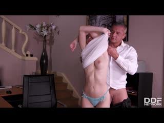 Olivia sin secretary of sin / трахает секретаршу на работе [blowjob, facial, handjob, natural tits, office, orgasm, russian]