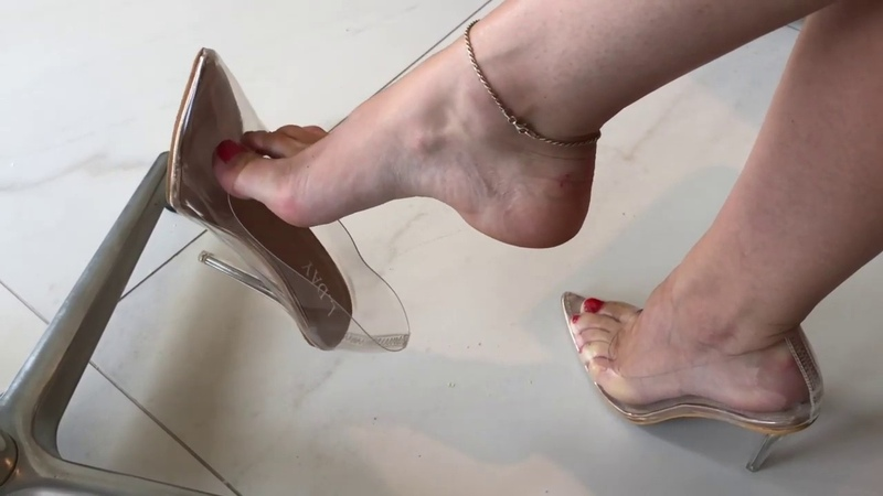 Bupshi - perspex shoes
