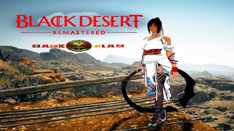 Black Desert Remastered | Kunoichi | Hack ^ Play | GTX 1660