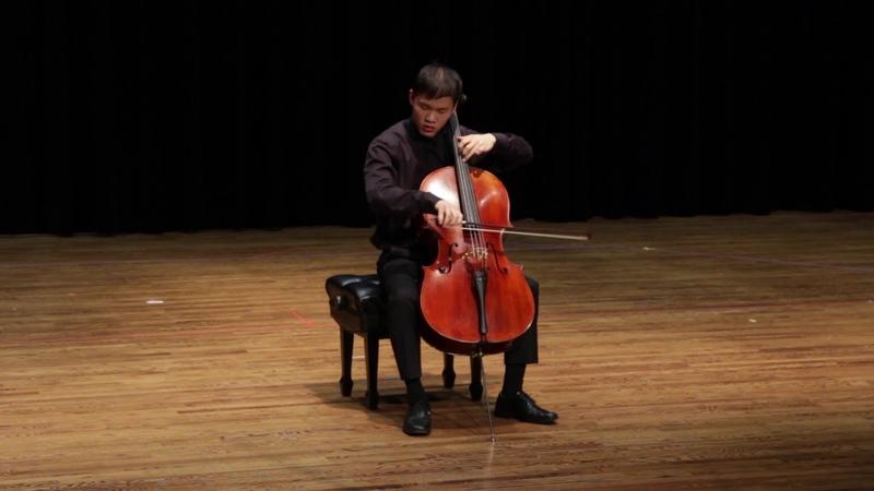 Bukinik Concert Etude No 4 in F Minor for Solo Cello