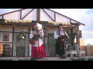 """Старинная пиратская песня:""""Йохо-хо...""""(15 человек на сундук мертвеца)."""