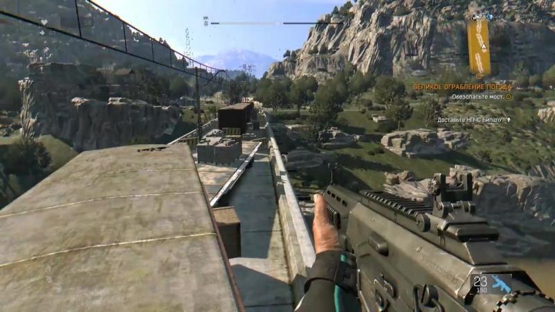 Dying Light The Following HD 1080p Великое ограбление поезда прохождение