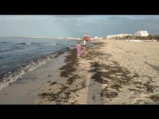 Шикарный пляж и сказочное море в Тунисе, от Сусса до Монастира июнь 2018