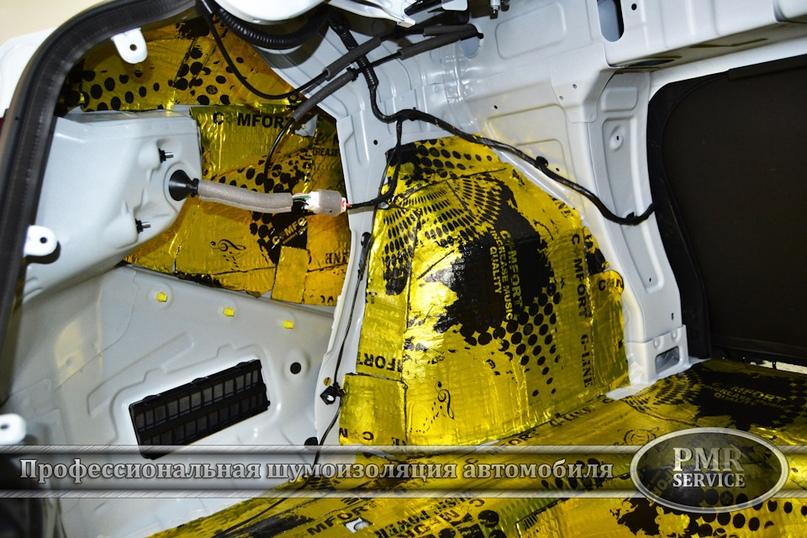 Шумоизоляция Hyundai Solaris, изображение №9
