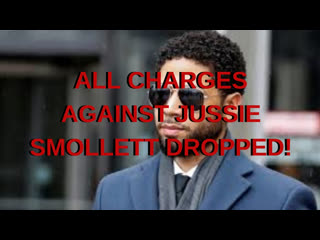 Outrage over Jussie Smollett Charges Dropped