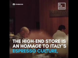 Starbucks is opening its first store in italy — and it's the grandest ever