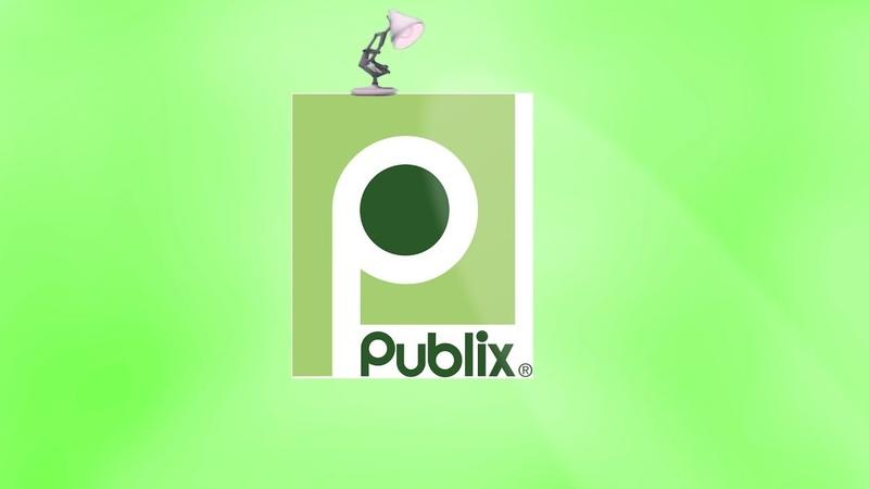 1353 Publix Super Markets Spoof Pixar Lamps Luxo Jr Logo