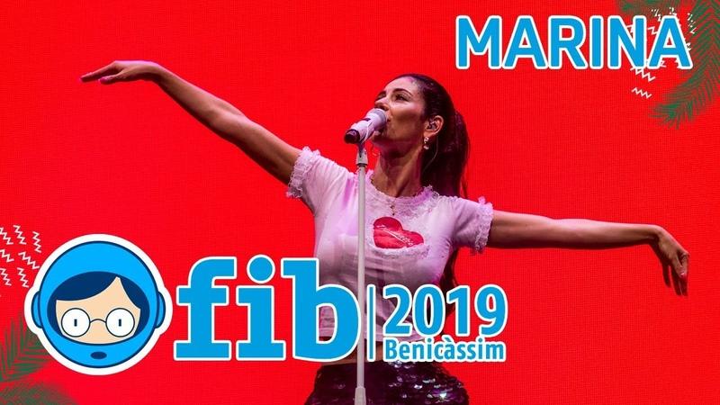 MARINA - Live at FIB 2019 (Benicàssim)