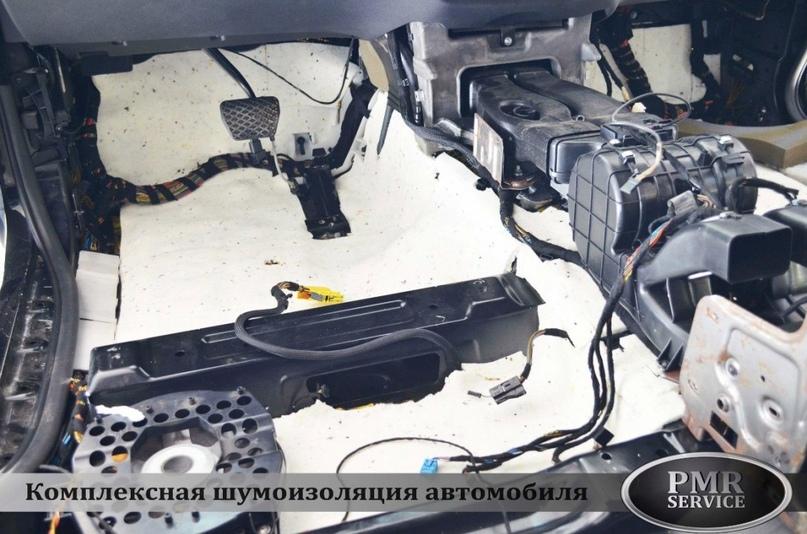 Шумоизоляция BMW X5, изображение №9