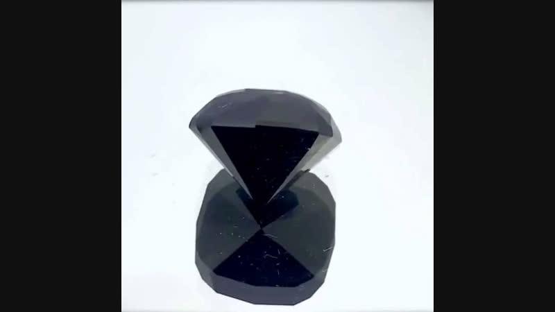 Черный турмалин (Шерл) 57.22 ct, Мадагаскар