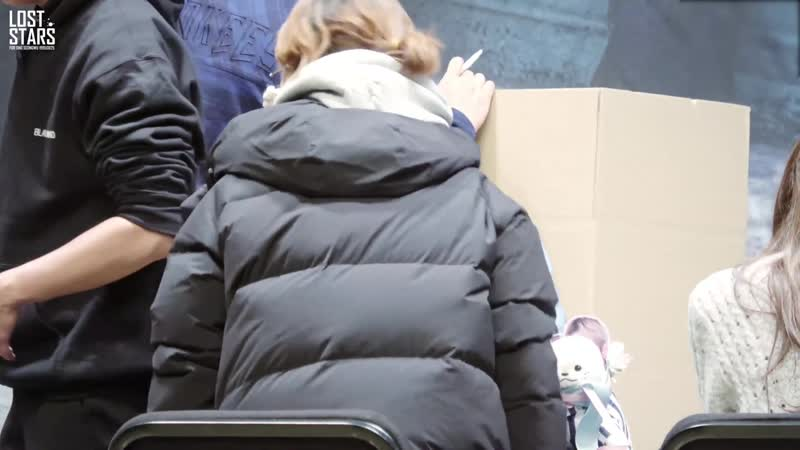 181124 • Wanna One (focus Seongwu) • Hottracks Fansign