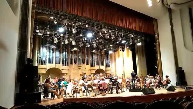 Репетиция концерта «Тайны петербургских мелодий»
