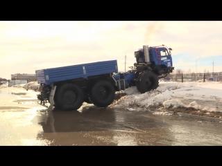 КАМАЗ-Арктика. новый русский  вездеход