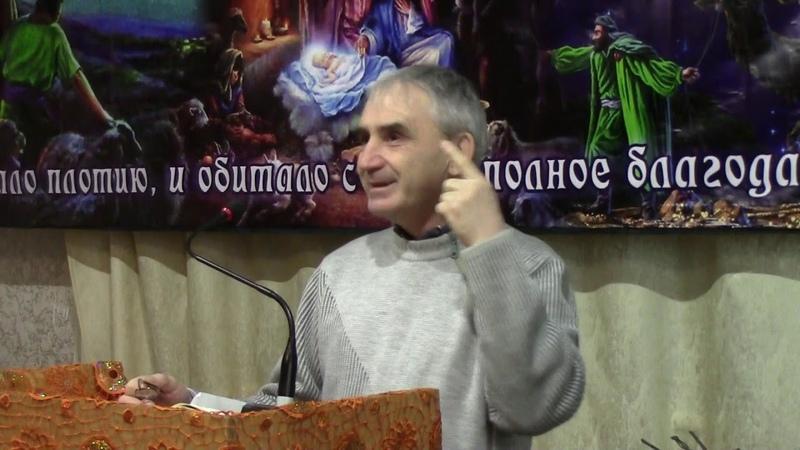 01 Юра Цибизов, Проповедь