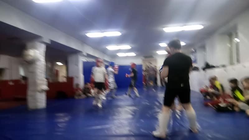 Спаринг Степана Дзюбина