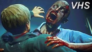 Resident Evil 2 Remake (геймплей) - 17 минут игры на русском - VHSник