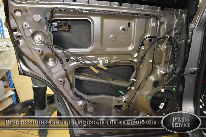 Шумоизоляция Toyota Highlander, изображение №12