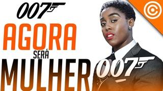 a POLÊMICA que o novo 007 será uma MULHER negra