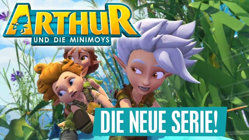 ARTHUR UND DIE MINIMOYS Die neue Serie Ab 16 Juli Disney Channel