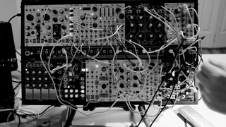 Delta Eurorack Patch -- more experimentation with the 2hp comb filter