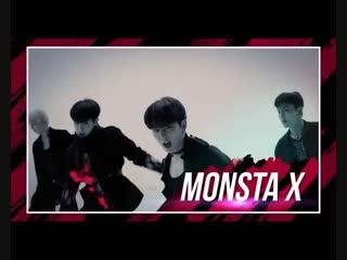 [vk][181113] monsta x preview @ music bank in hong kong