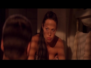 Анджелина Джоли Голая - Angelina Jolie Nude - Lara Croft  Tomb Raider ( 2001 )