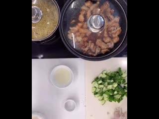 Шикарный салат с булгуром