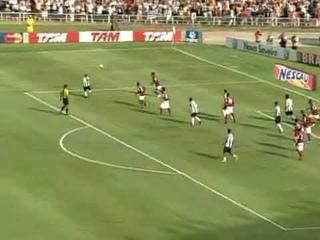 Atlético MG 1 X 3 Flamengo 08/11/2009  GOL Olímpico de Pet no Mineirão